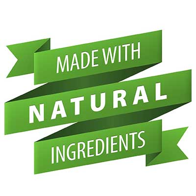 Made with natural ingredients