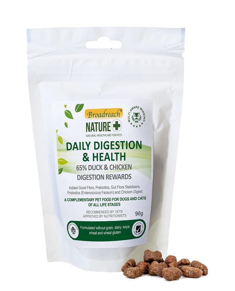 daily digestion reward treats - duck and chicken