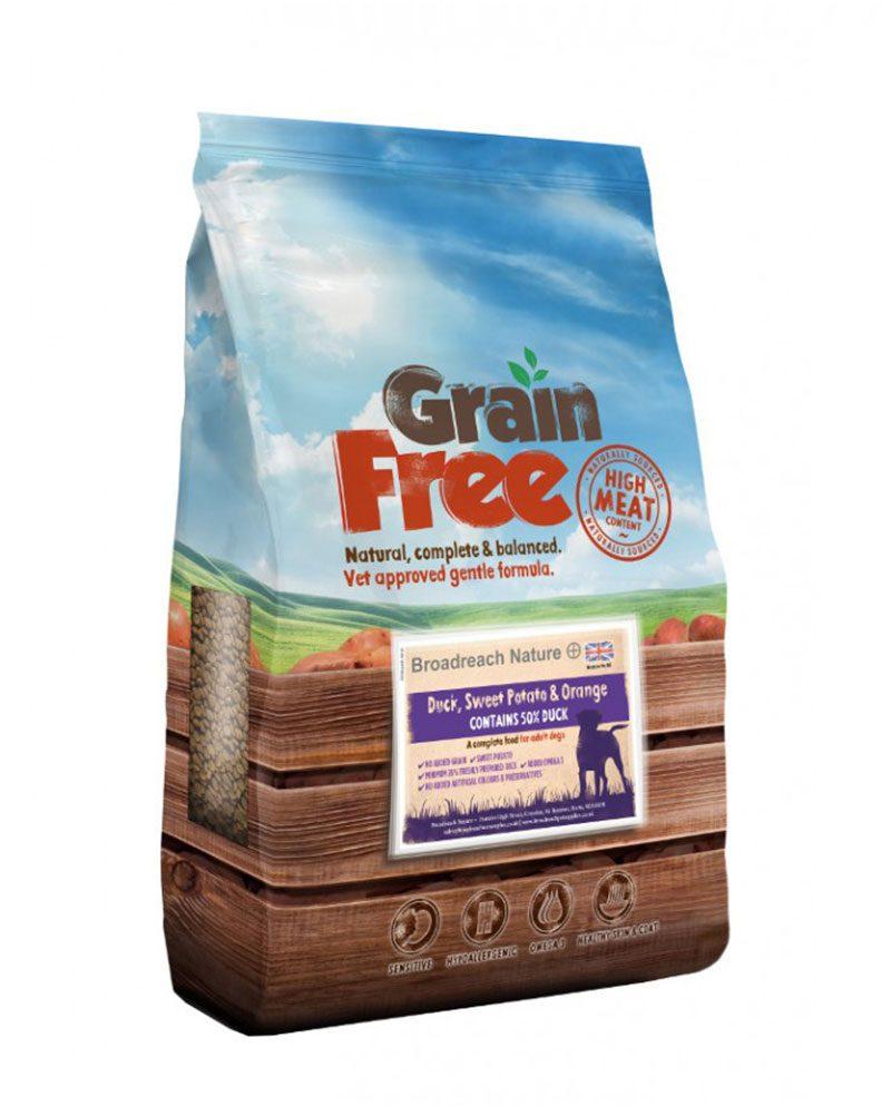 Grain Free Duck Dog Food