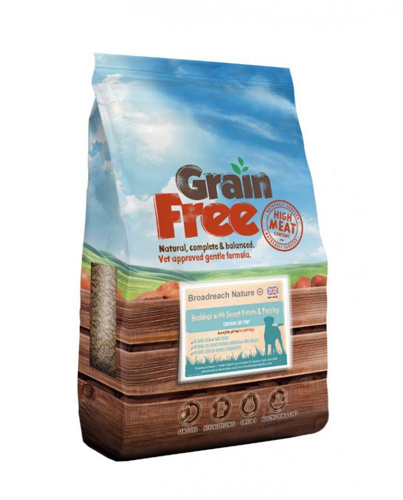 Grain Free Haddock Dog Food
