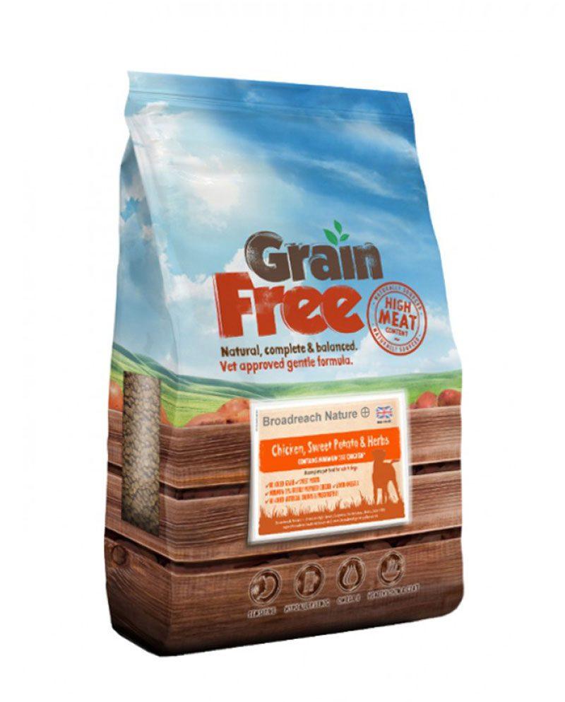 Grain Free Chicken Dog Food