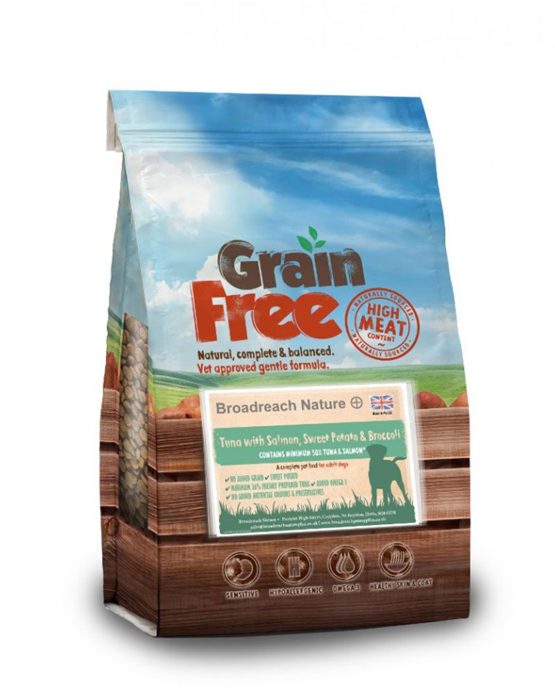 Grain Free Tuna With Salmon Dog Food