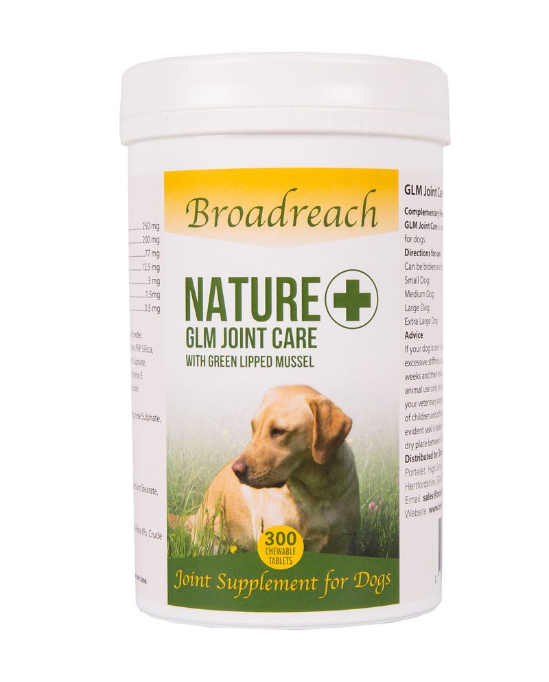 GLM joint care supplement for dogs