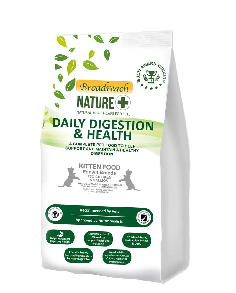 digestive health kitten food