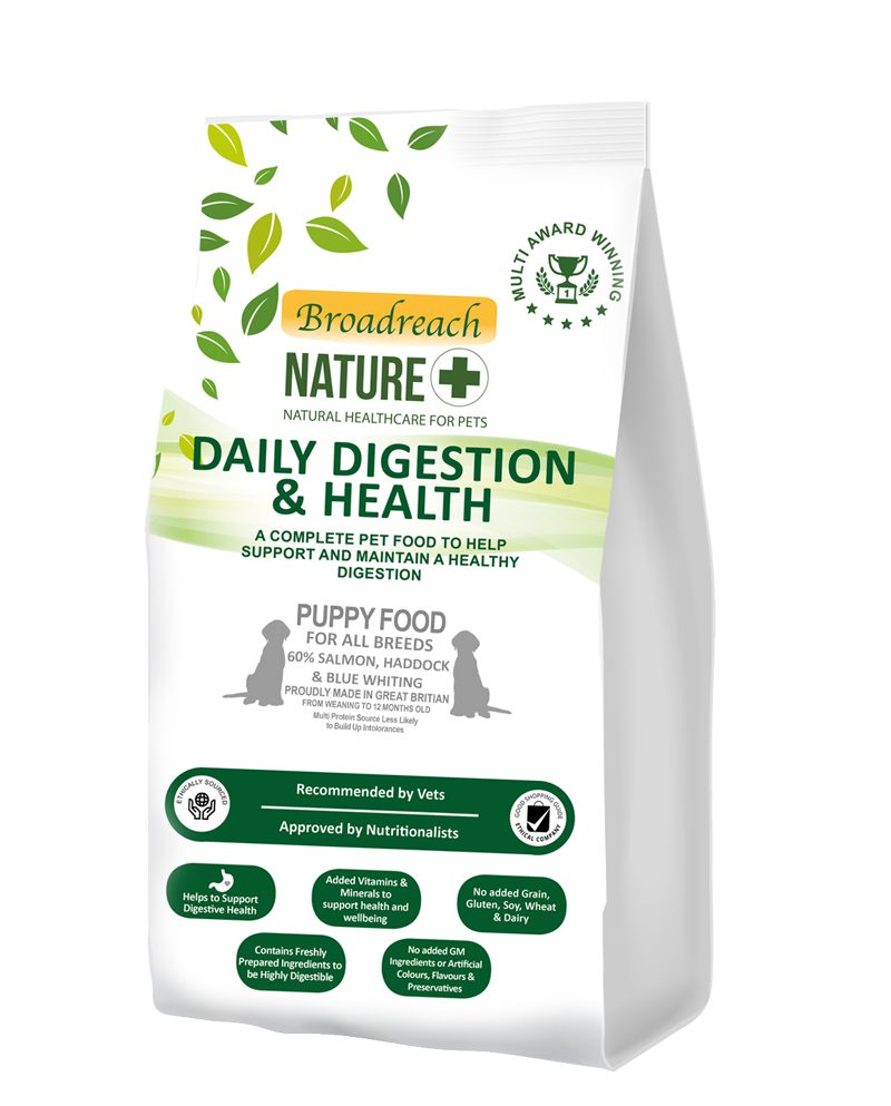daily digestion puppy food