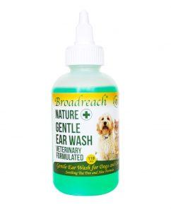 Gentle ear wash