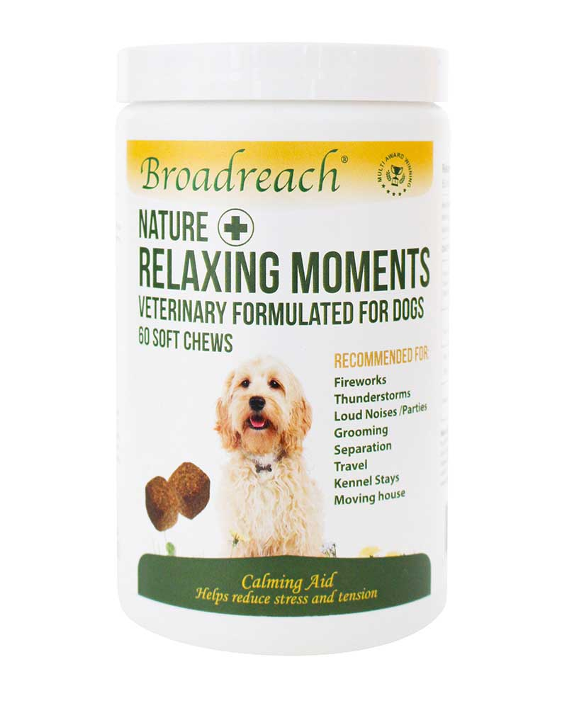 relaxing moments soft chews for stressed or nervous dogs