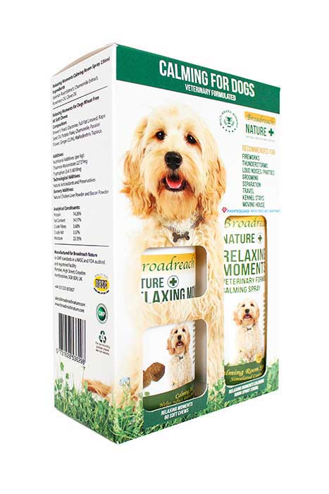 Calming for Dogs and Puppies