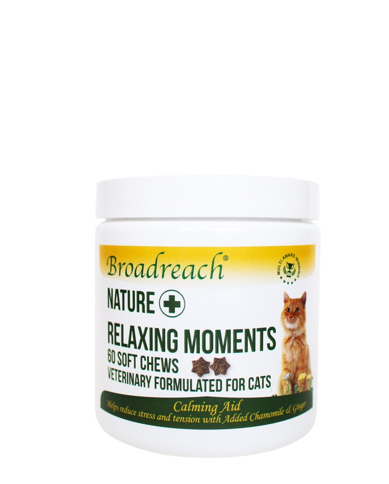 Relaxing moments chews for cats