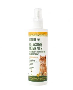 relaxing moments spray cats