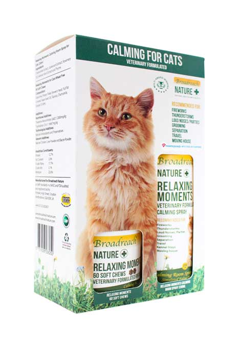 Calming duo pack for cats