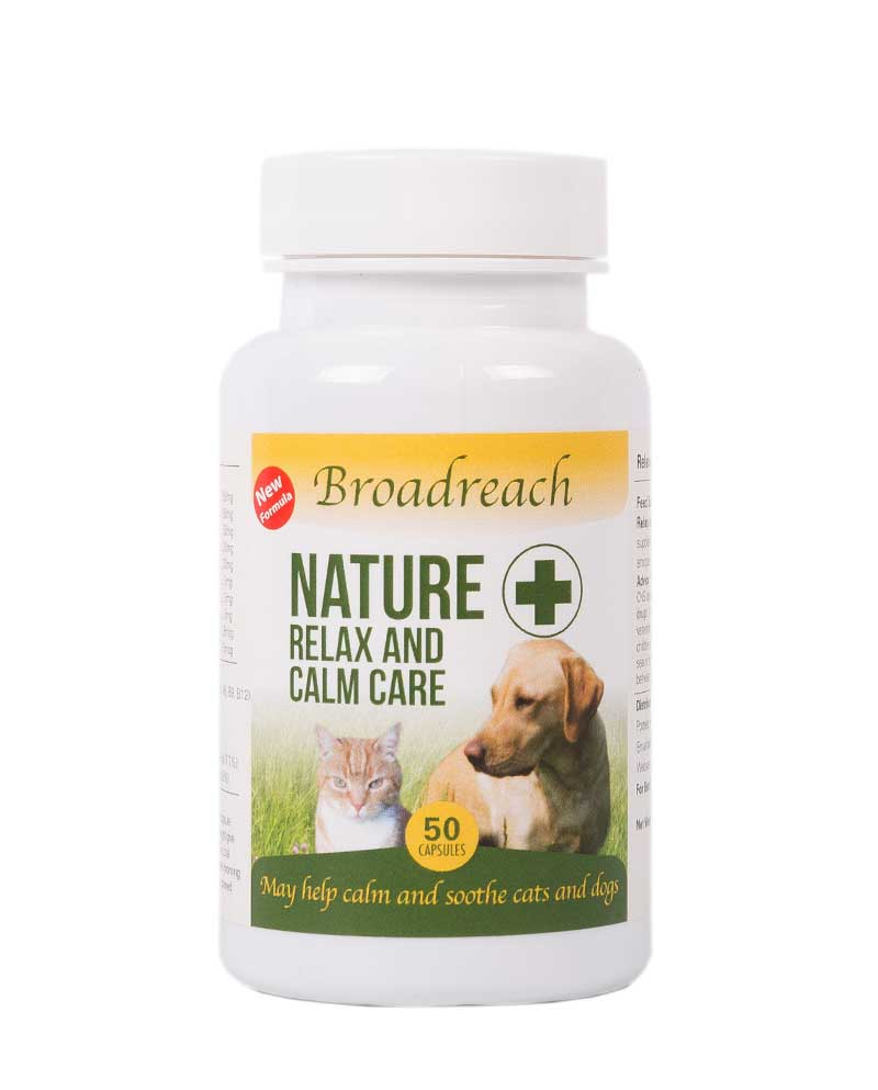 Relax and Calm Care Supplement for dogs and cats