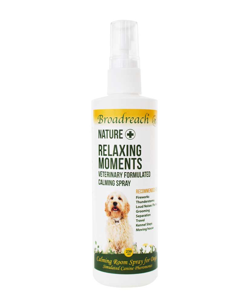 relaxing moments spray to calm you rdog